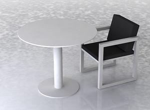 swanky design - cruz dining table set - Rundes Gartentisch