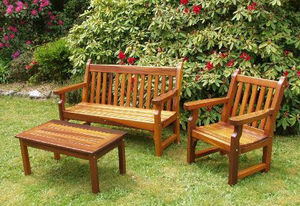 Tofino Cedar Furniture - nootka - Gartengarnitur