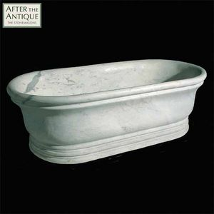After The Antique - marble bath - Freistehende Badewanne