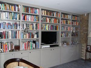 Poisedale (dorset) - bookcases - Bibliothek