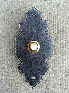 Replicata - einzelklingel palladium - Klingelknopf