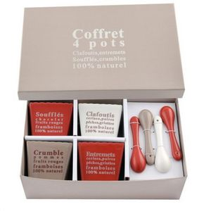 MAISONS DU MONDE - coffret 4 desserts gastronome - Fingerfood Glass