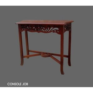 DECO PRIVE - console en bois d acajou job - Konsolentisch