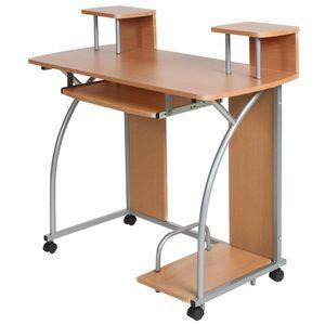 WHITE LABEL - bureau enfant meubles mobilier chambre - Schreibtisch Büroräume