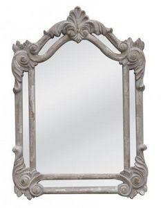 Demeure et Jardin - miroir pare close gris clair - Spiegel