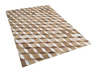 BELIANI - usak - Moderner Teppich