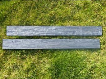 CLASSGARDEN - bordure piquet d'ardoise scie 1 mètre - pack de 1 - Garten Rabatten