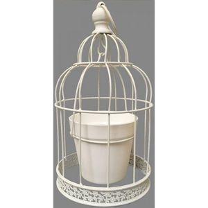 CHEMIN DE CAMPAGNE - cage à oiseaux oiseau porte plante fleur jardinièr - Gartenlaterne