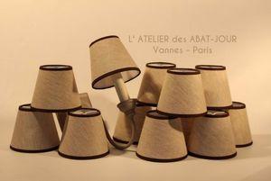 L'ATELIER DES ABAT-JOUR - à pince - Konischer Lampenschirm