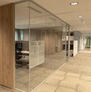 HOYEZ - h transparence   - Büro Zwischenwand