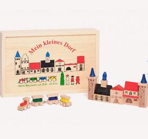 Au Nain Bleu - le petit village - Holzspiel