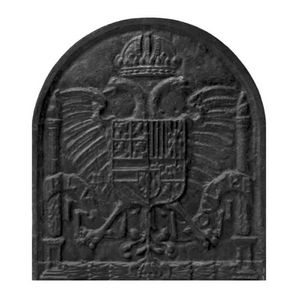 plaque de fonte -  - Kaminplatte