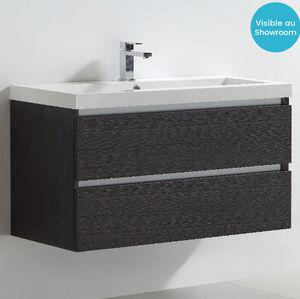 Thalassor - city 100 grigio - Waschtisch Möbel