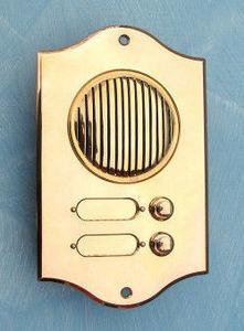 Replicata - klingelplatte torino ii - Klingelknopf