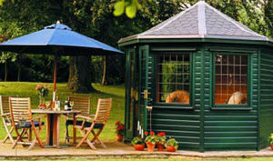 Pinelog -  - Sommerpavillon
