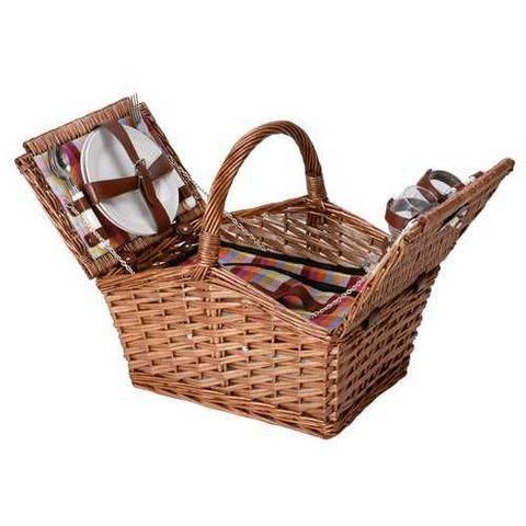 La Chaise Longue - Picknickkorb-La Chaise Longue-Panier pique-nique coloré 2 personnes