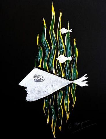 ARMAND ISRAËL - Lithographie-ARMAND ISRAËL-Pensées secrètes de Georges BRAQUE litho