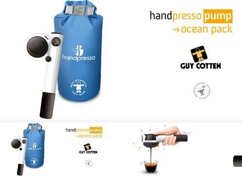 Handpresso - Maschine tragbarer espresso-Handpresso-Pack Ocean Handpresso Pump blanc