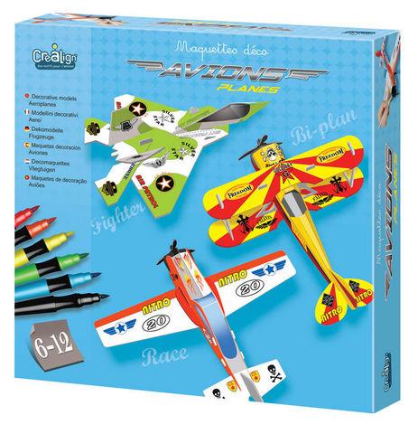 Crea Lign' - Flugzeugmodell-Crea Lign'-Maquette déco Avions