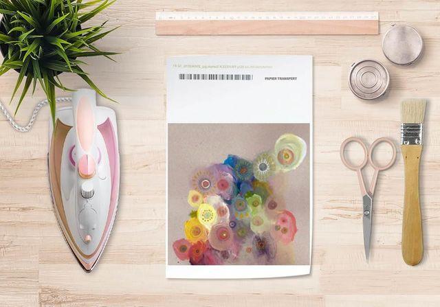 la Magie dans l'Image - Verlegung-la Magie dans l'Image-Papier transfert Klimt
