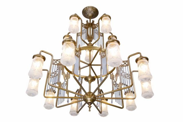 PATINAS - Kronleuchter-PATINAS-Triest 15 armed chandelier