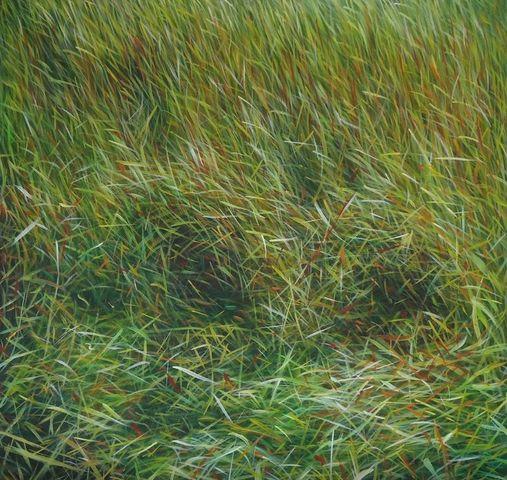 MANUEL CANCEL - Zeitgenössische Gemälde-MANUEL CANCEL-_Grass