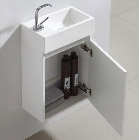 Thalassor - Handwaschbecken-Thalassor-Flyer 40 Bianco