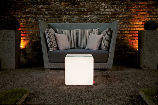 Moree - Leuchtobjekt-Moree-Cube LED Accu Outdoor