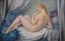 Galerie Emeric Hahn - Ölgemelde auf Leinwand und Holztafel-Galerie Emeric Hahn