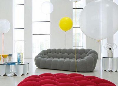 ROCHE BOBOIS - Sofa 3-Sitzer-ROCHE BOBOIS-BUBBLE