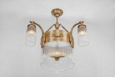 PATINAS - Kronleuchter-PATINAS-Strasbourg 3 armed chandelier