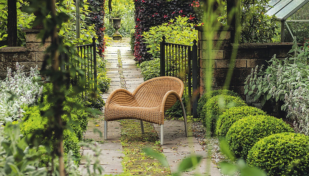 Bonacina 1889 Sillón de jardín Sillones de exterior Jardín Mobiliario  |