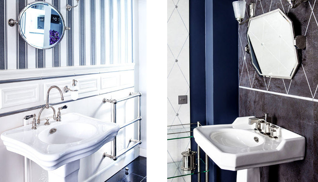 Volevatch Lavabo sobre columna o base Piletas & lavabos Baño Sanitarios  |