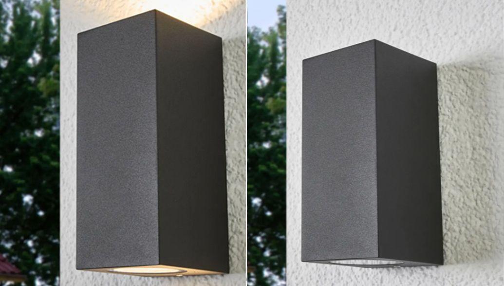 Lampenwelt Aplique de exterior Lámparas y focos de exterior Iluminación Exterior  |