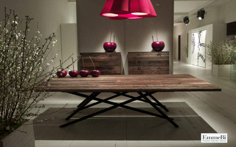 Emmebi Mesa de comedor rectangular Mesas de comedor & cocina Mesas & diverso Comedor | Rústico