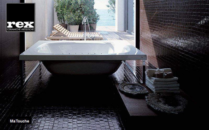 REX CERAMICHE ARTISTICHE Azulejos para cuarto de baño Azulejos para paredes Paredes & Techos Baño | Ecléctico
