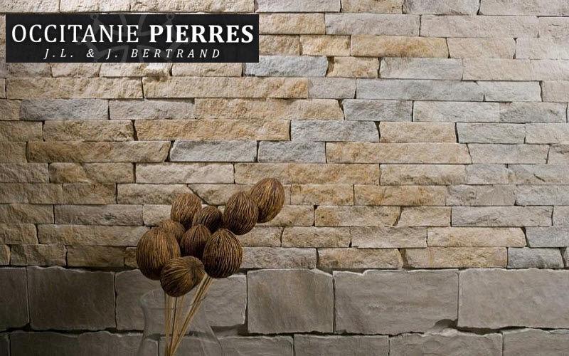 Occitanie Pierres Paramento pared interior Paramentos Paredes & Techos Entrada | Rústico
