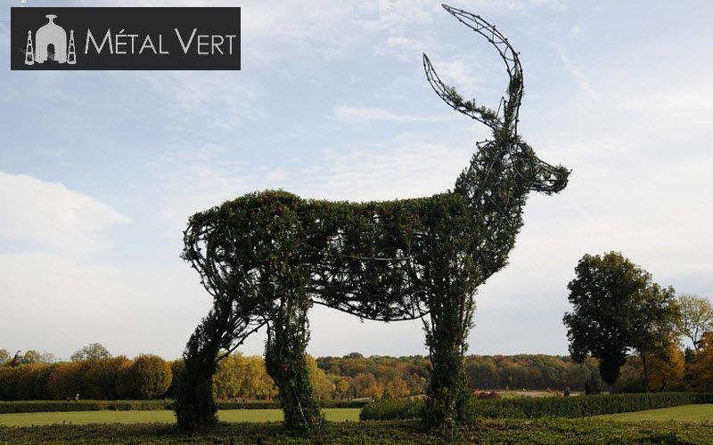 METAL VERT Plantilla para plantas trepadoras de exterior Jardinería Jardín Diverso Jardín-Piscina | Ecléctico