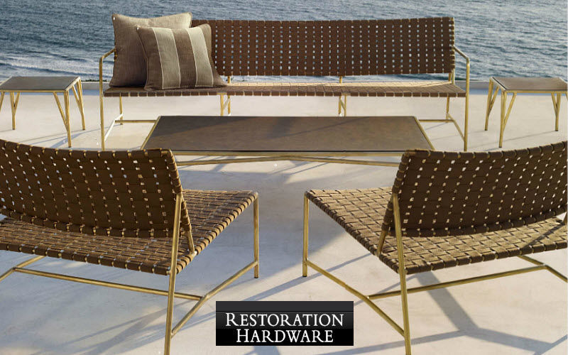 RESTORATION HARDWARE Salón de jardín Salones completos de jardín Jardín Mobiliario  |