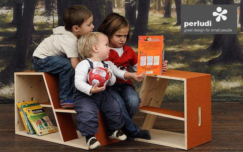 PERLUDI Estantería para niños Organizadores para niños El mundo del niño   |