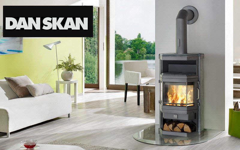 Danskan Estufa de madera Estufas e instalaciones de calefacción Chimenea   