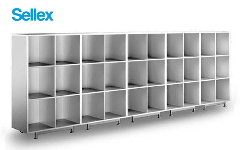 SELLEX Estantería de despacho Armarios y almacenamiento Despacho   