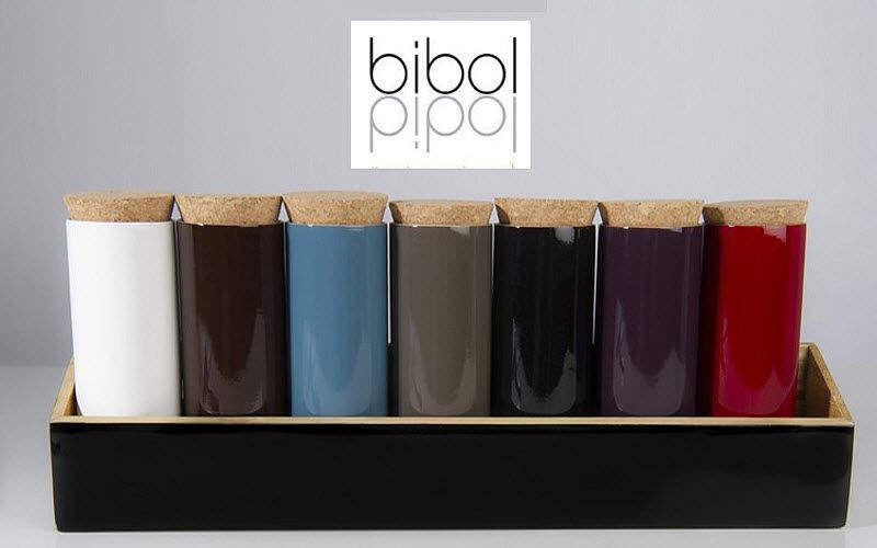BIBOL Tarro de especias Recipientes y contenedores de conservas (tarros-botes-frascos) Cocina Accesorios  |