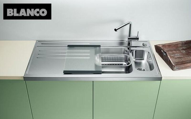 Blanco Fregadero doble Fregaderos Equipo de la cocina  |