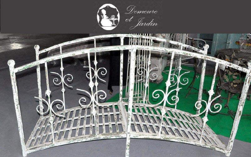 Demeure et Jardin Puente Puentes y pasarelas Jardín Cobertizos Verjas...  |
