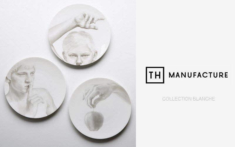 TH MANUFACTURE Plato llano Presenta-platos Vajilla  |