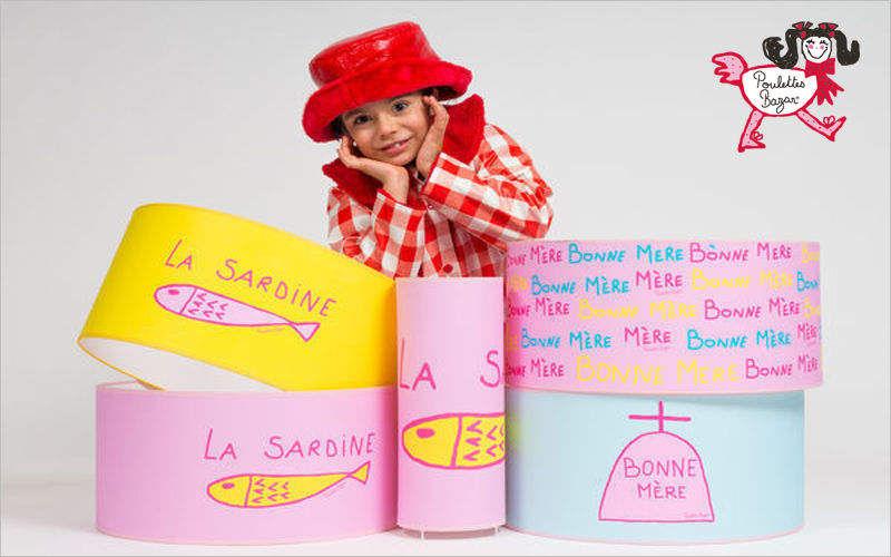 POULETTES BAZAR Pantalla de lámpara para niño Pantallas de lamparas Iluminación Interior  |