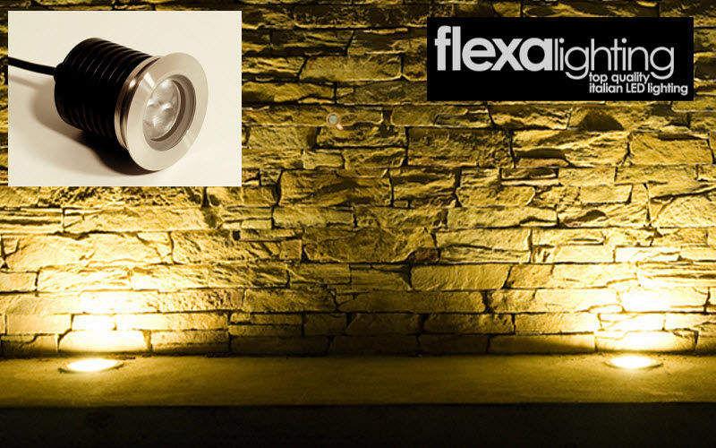 Flexa lighting Luz para empotrar en el suelo Puntos de luz Iluminación Interior  |