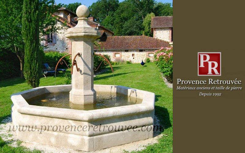 Provence Retrouvee Fuente exterior Fuentes Jardín Jardineras Macetas   |