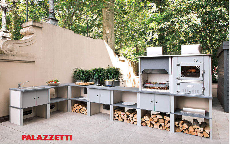 Palazzetti Cocina de exterior Cocinas completas Equipo de la cocina Terraza | Design Contemporáneo